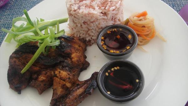 Chicken Inasal, a native dish in the Western Visayas Region