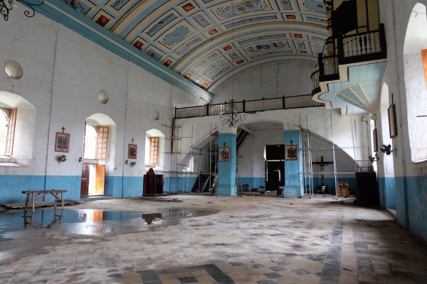 Dimiao Church undergoing restoration