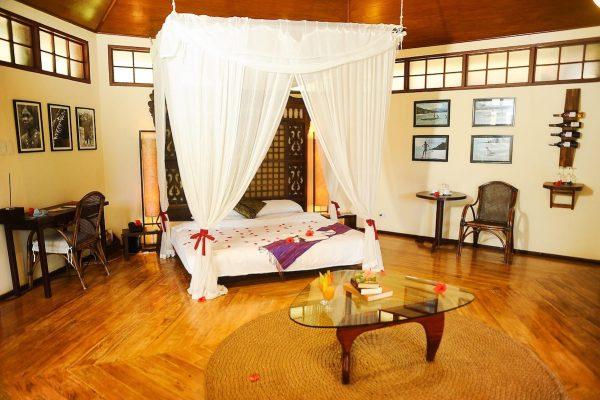 Inside Mandala Spa and Villas Private Hut