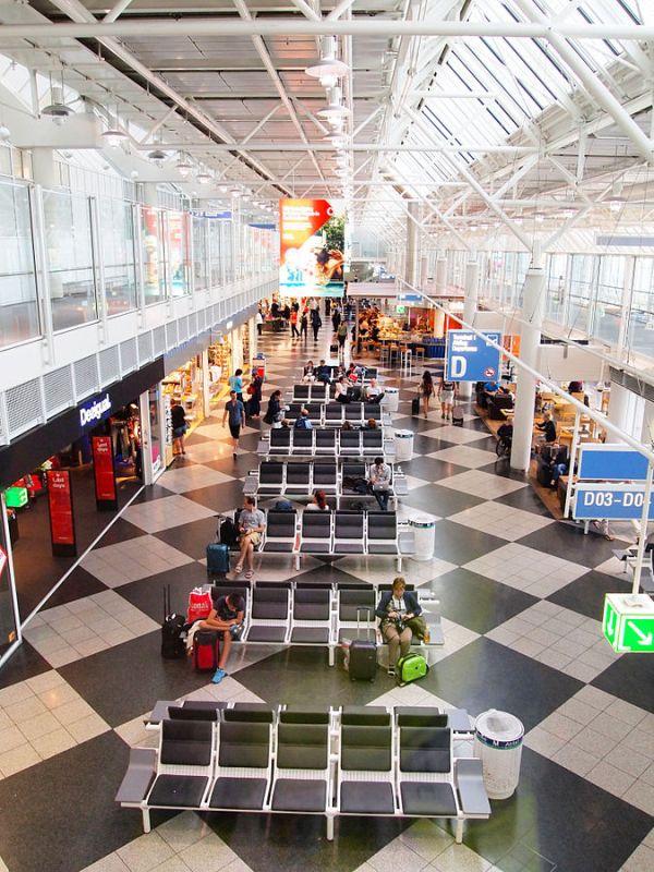 Munich Airport Boarding Gate