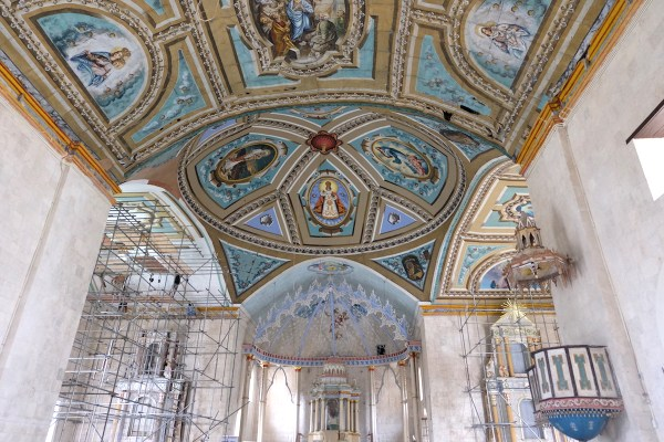 Painted Ceiling of Laoay Church