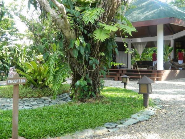 Reception Area of Mandala Spa and Resort Villas Boracay