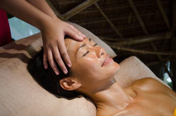 Relaxing Head Massage at Mandala Spa Boracay photo via FB