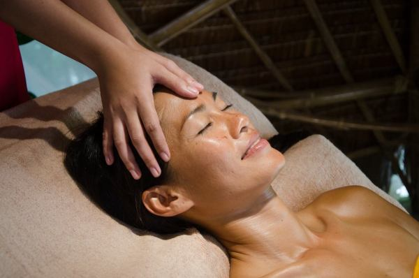 Relaxing Head Massage at Mandala Spa Boracay photo via FB