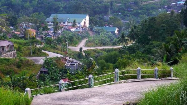 Road toward the peak
