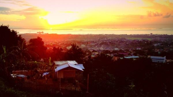Sunrise over Sitio Mahayahay
