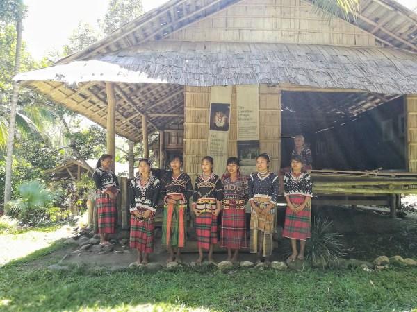 Blaan Performing indigenous song