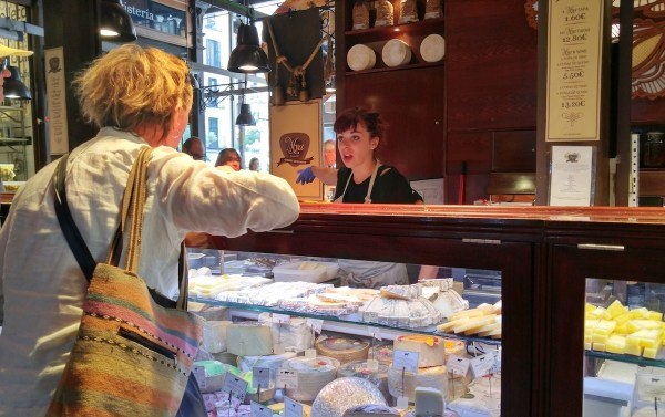 Cheese Shop in Madrid