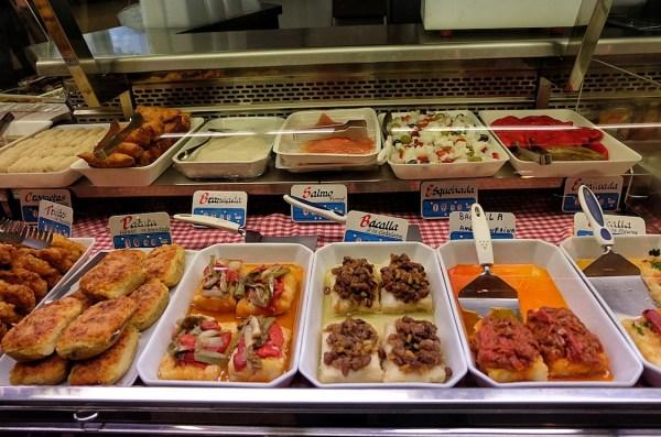Cooked Food at Santa Caterina Food Market