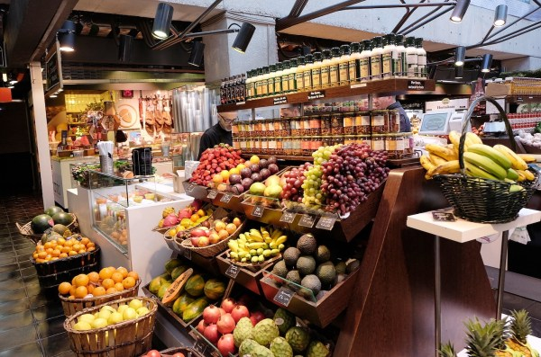 Fresh Fruits at Mercado de San Anton