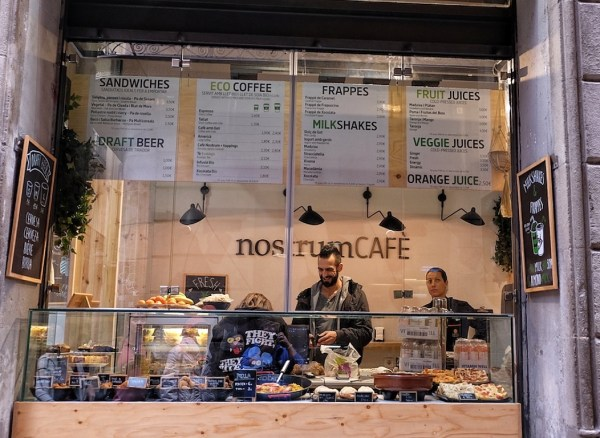 Interesting Food to go shops in Barcelona