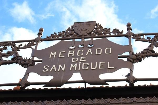 Mercado San Miguel in Madrid