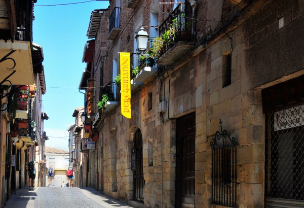 Passing thru an old town that looks deserted because people are having their afternoon siesta.