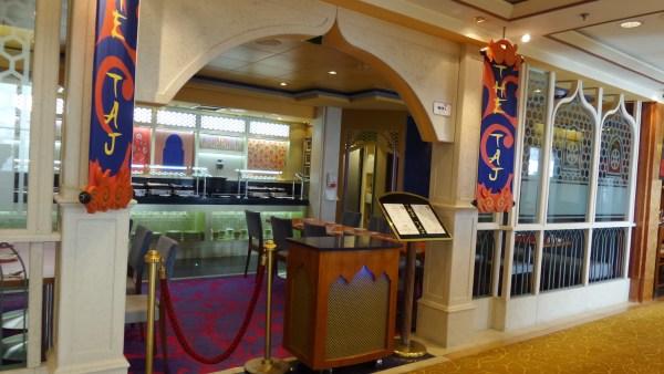 Restaurant inside Star Cruises