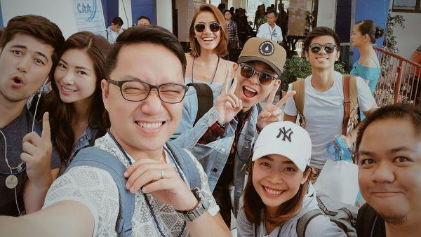 #TeamBohol at The Bellevue Resort Bohol photo by Myke Soon