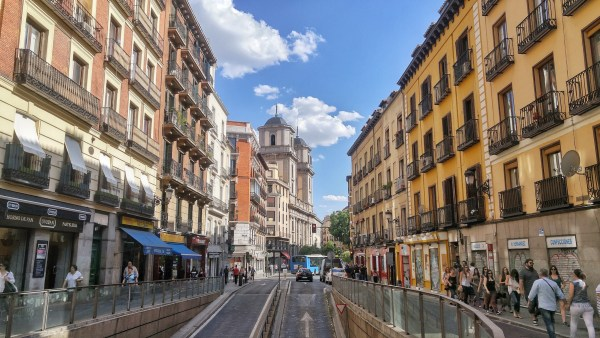 Walking Tour of Madrid