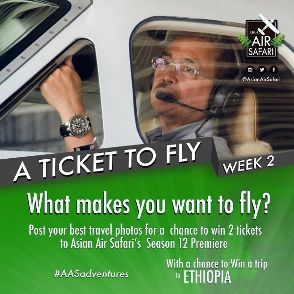 A Ticket to Fly Week - Asian Air Safari