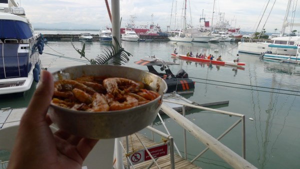 Bucket Shrimps at Cebu Yacht Club