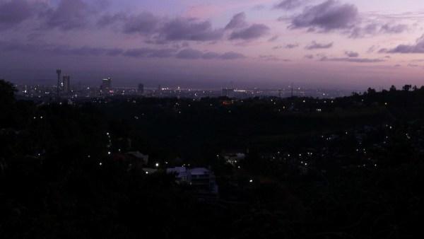 Cebu skyline at night