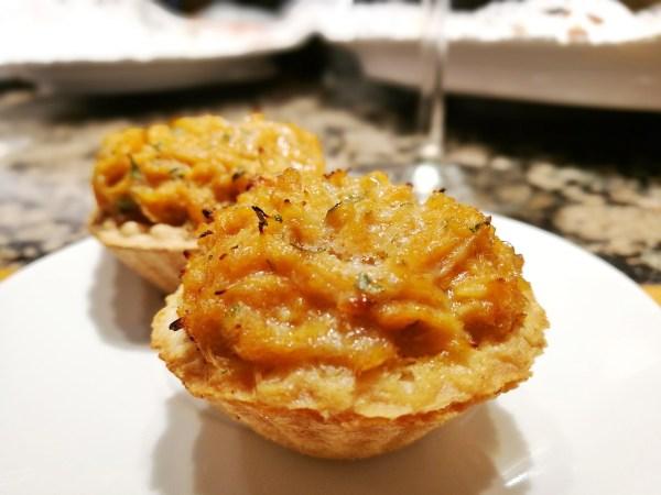 Crab Tartlets