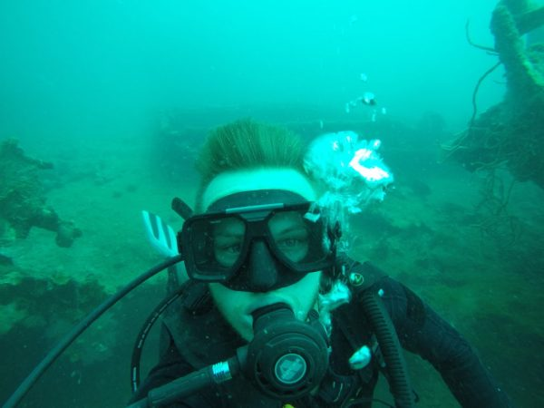 Diving in Coron