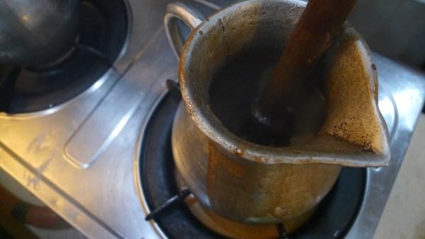 Drink sikwate or hot chocolate