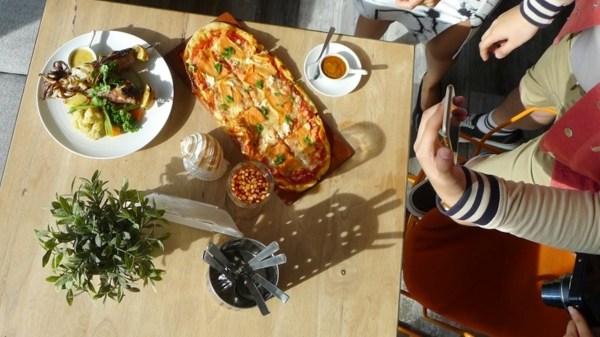 Italian dishes at Gusto Mare at Il Corso