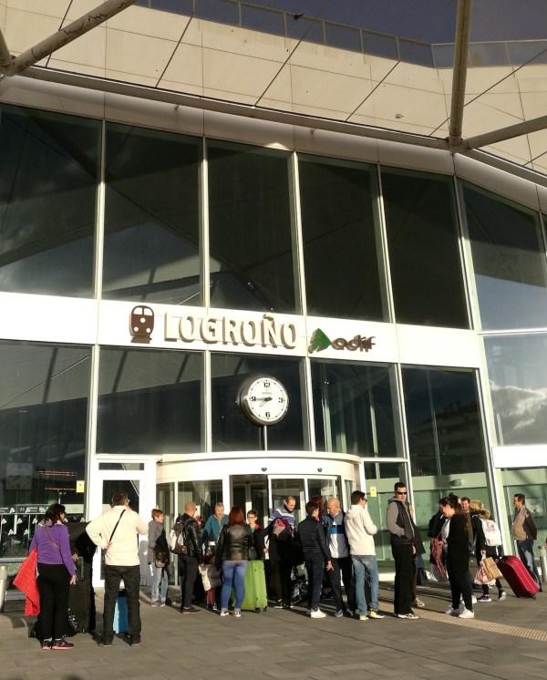 Logrono Train Station
