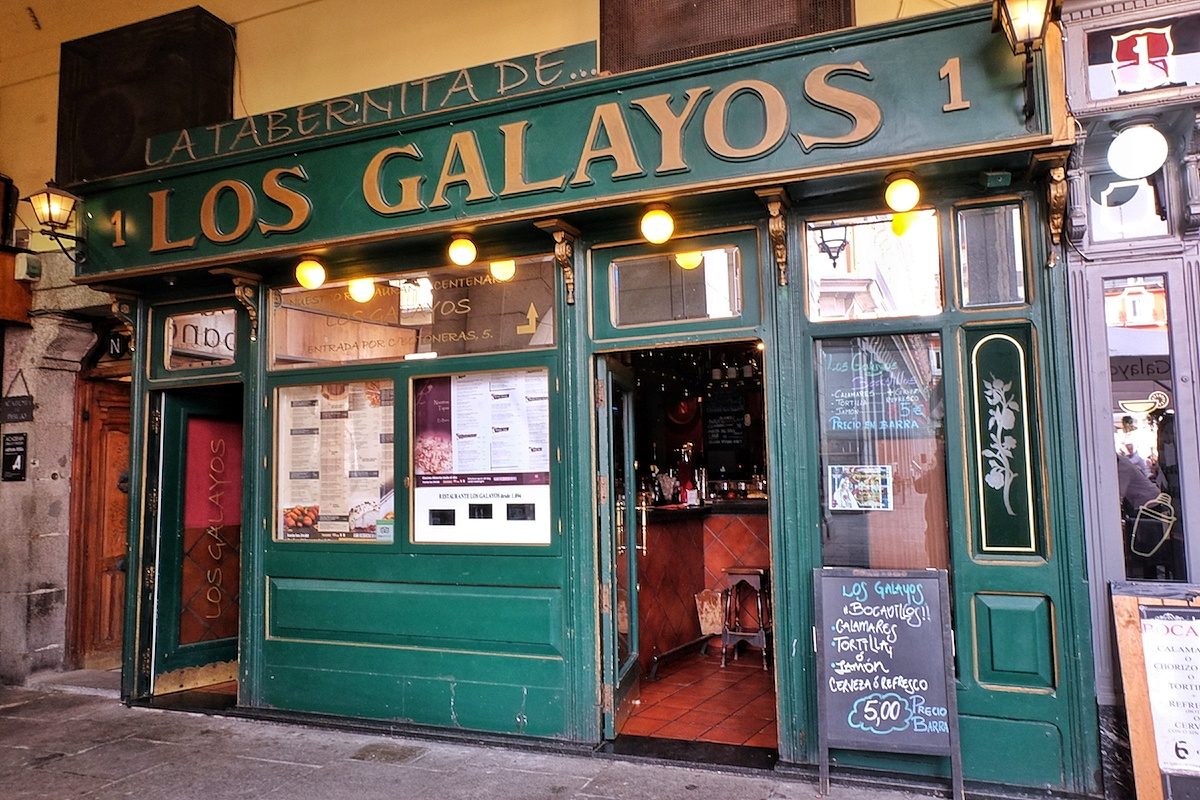 Lunch In Los Galayos Restaurant In Madrid Out Of Town Blog