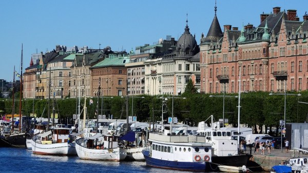Port in Stockholm