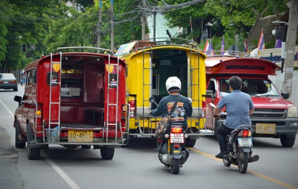 Public Transport in Chiang Mai