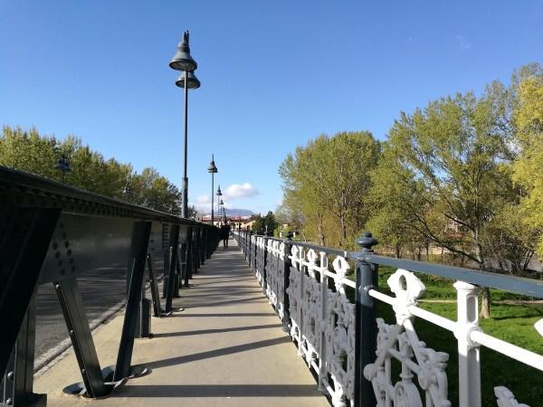 Puente de Hierro in Logrono Spain