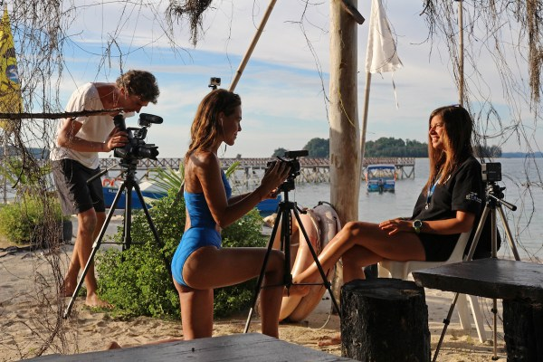 Filming in Labuan