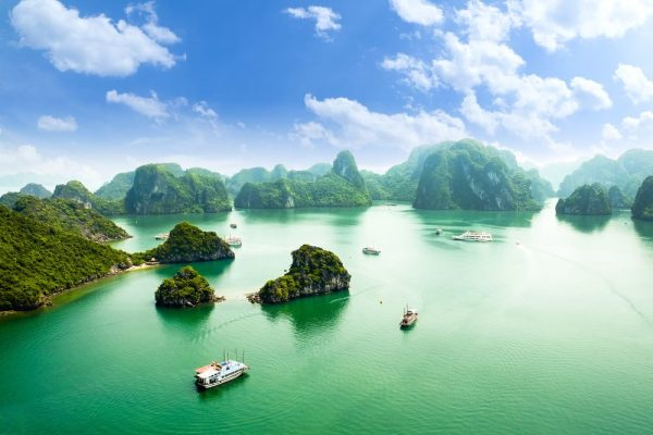 Halong Bay - Natural Wonders to See in Vietnam