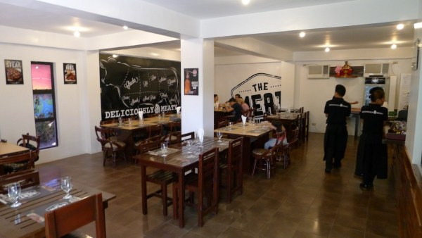 Interiors at The Meat House Cebu