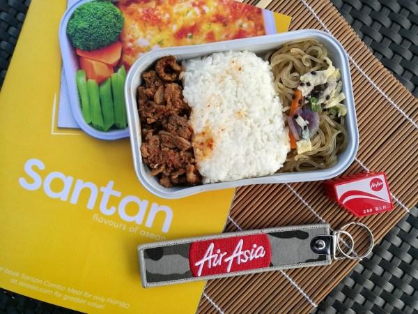 AirAsia Spicy Beef Bulgogi with Japchae