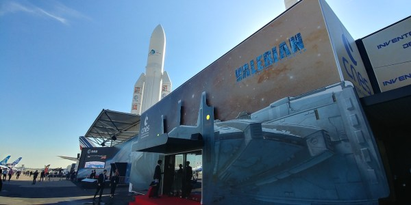 EADS Ariane 5 space rocket