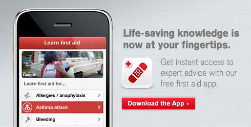 First Aid by the American Red Cross app