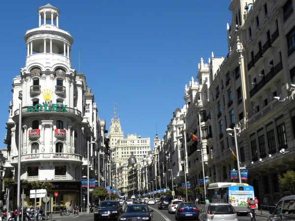 Gran Via Madrid Must Visit Cities in Spain