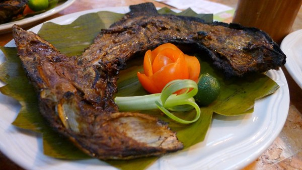 Grilled Tuna Panga