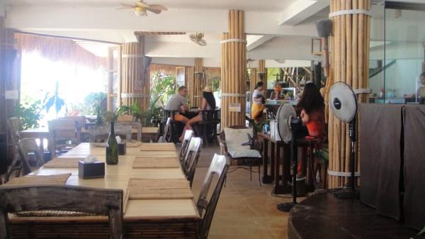 Inside Steve's Cliff Restaurant