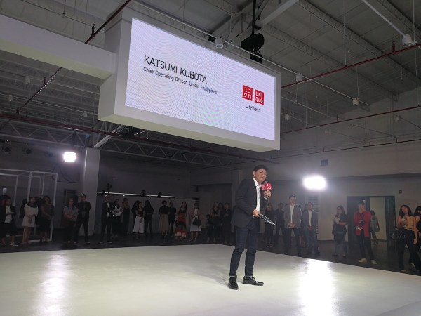 Katsumi Kubota - Uniqlo Philippines CEO