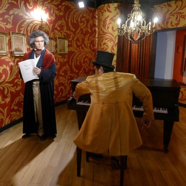 Ludwig Van Beethoven at Madame Tussaud's Bangkok