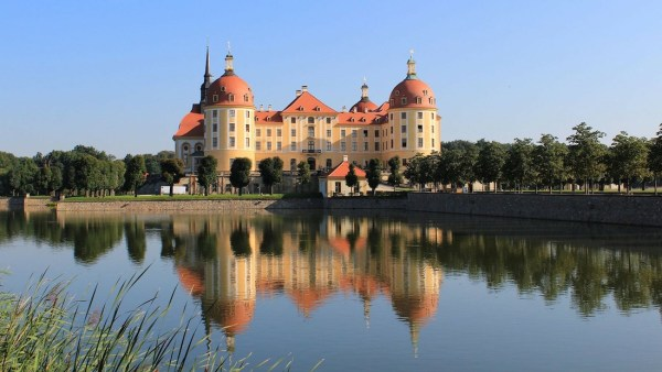 Moritzburg Castle in Germany