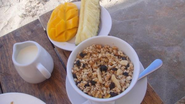 Muesli Breakfast Set