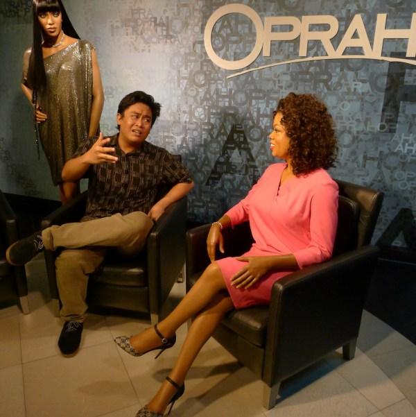 Oprah at Madame Tussaud's Bangkok