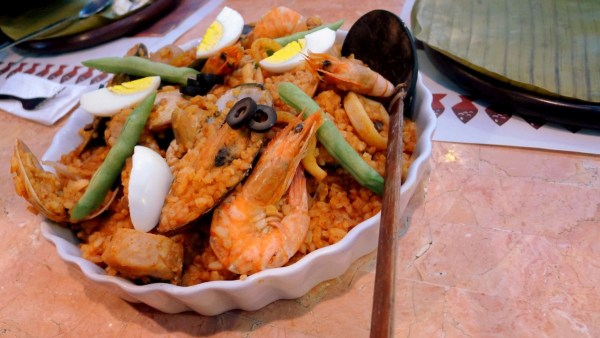 Paella Rice at Lighthouse Restaurant