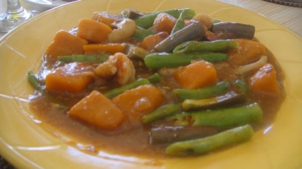 Pinakbet served at Steve's Cliff Restaurant