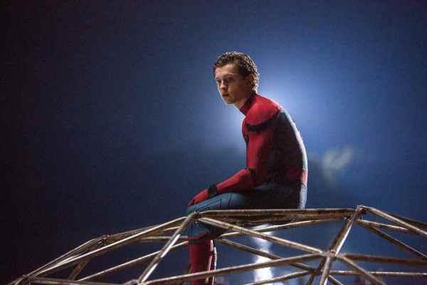 Tom Holland stars as Spider-man