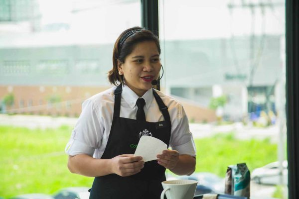 Starbucks Global Coffee Master Ana Mendoza